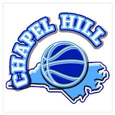 Chapel Hill Basketball Poster