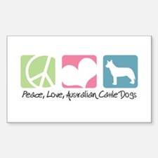 Australian Cattle Dog Sticker (Rectangle)