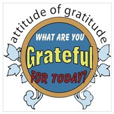 ATTITUDE OF GRATITUDE Canvas Art