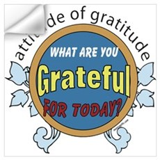 ATTITUDE OF GRATITUDE Wall Decal