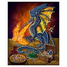 Dragon's Treasure 16x20 Poster