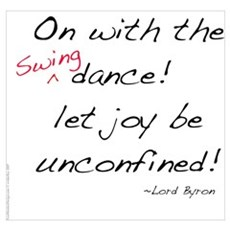Byron on Swing Dance Poster