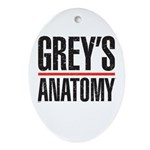 Grey's Anatomy Ornament (Oval)