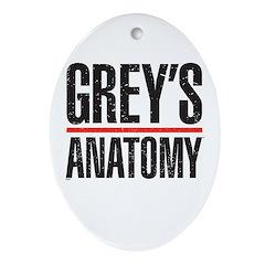 Grey's Anatomy Ornament (Oval)