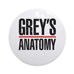 Grey's Anatomy Ornament (Round)