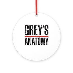 Grey's Anatomy Ornament (Round)