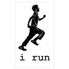 i run Poster