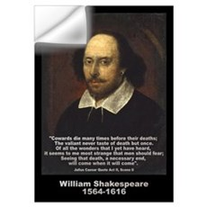 William Shakespeare Quote Wall Decal
