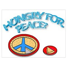 HUNGRY FOR PEACE? Canvas Art