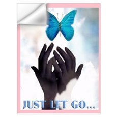 JUST LET GO Wall Decal