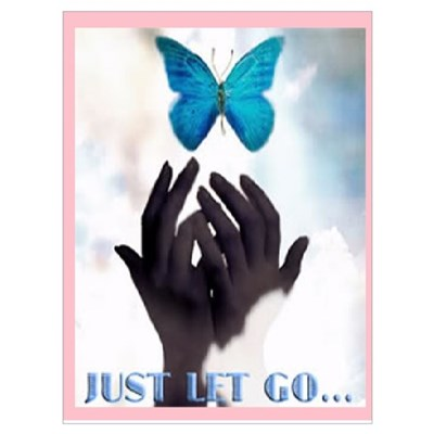 JUST LET GO Canvas Art