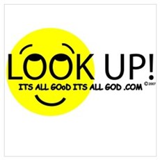 LOOK UP! Poster
