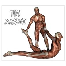 Thai Massage Canvas Art