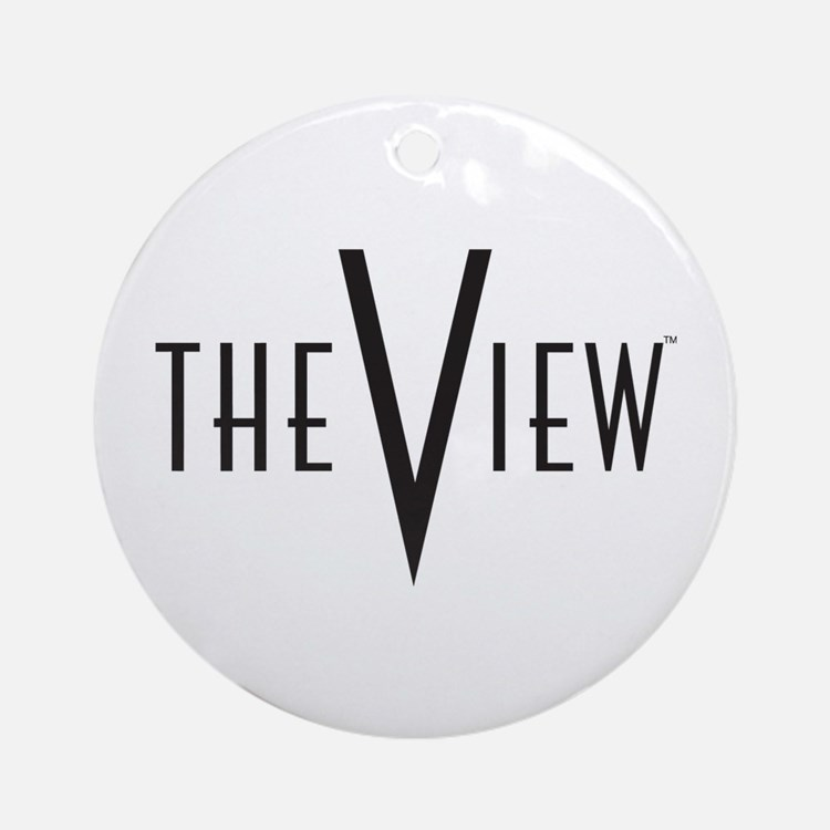 The View Ornament (Round)