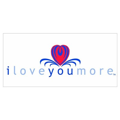 I Love You More (TM) Canvas Art