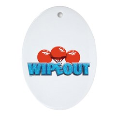 Wipeout Ornament (Oval)
