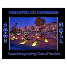Pentagon 911 Memorial Poster