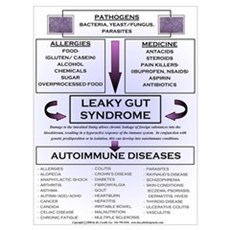 Large Leaky Gut Syndrome Poster