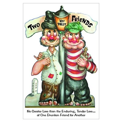 Two Friends Poster