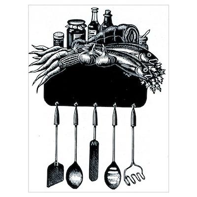 Kitchen Crest Poster
