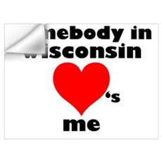 Somebody in WI Wall Decal