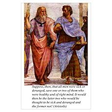 Philosophy s: Large Plato & Aristotle Poster