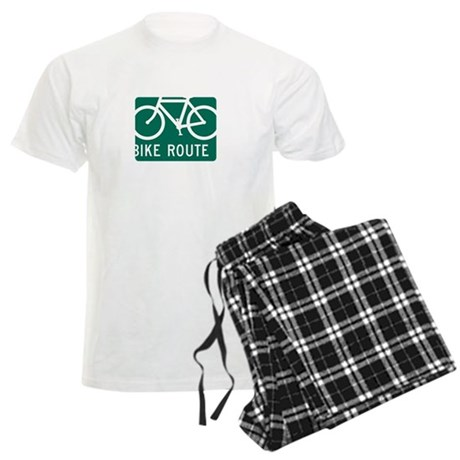Bike Route-W Men's Light Pajamas