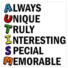 Awesome Autism Framed Print