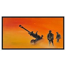 105 mm howitzer Poster