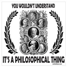 PHILOSOPHY Framed Print