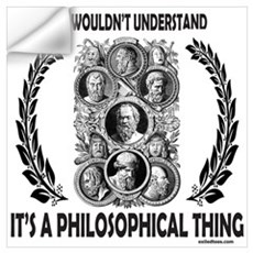 PHILOSOPHY Wall Decal
