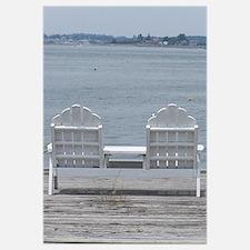 Maine Coastal Dock View