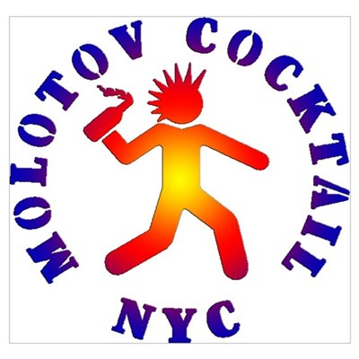 MOLOTOV COCKTAIL NYC Poster