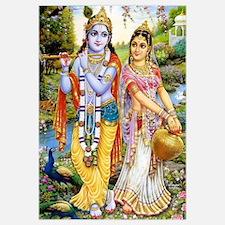 Krishna and Radha Un