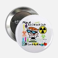 "Dexter's Laboratory Birthday 2.25"" Button (10 pack"