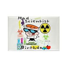 Dexter's Laboratory Birthday Rectangle Magnet