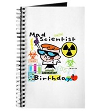 Dexter's Laboratory Birthday Journal