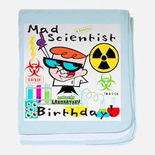Dexter's Laboratory Birthday baby blanket
