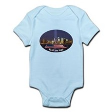 9-11 We Will Never Forget Infant Bodysuit