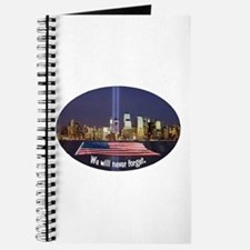 9-11 We Will Never Forget Journal