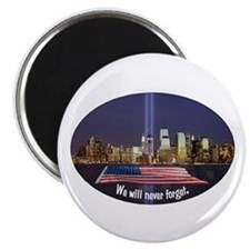 9-11 We Will Never Forget Magnet