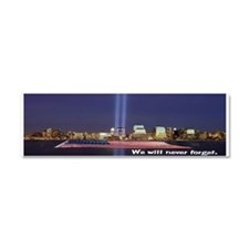 9-11 We Will Never Forget Car Magnet 10 x 3