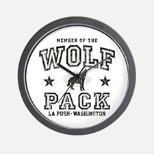 Wolfpack La Push Wall Clock
