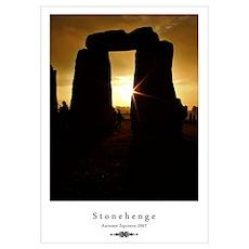 Stonehenge at dawn Poster