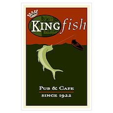 Kingfish Pub Poster