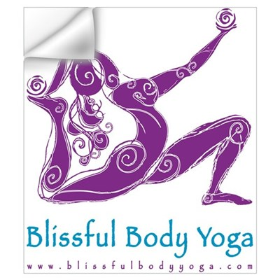 Blissful Body Yoga Wall Decal