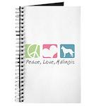 Peace, Love, Malinois Journal