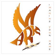 Mark brown eagle Poster