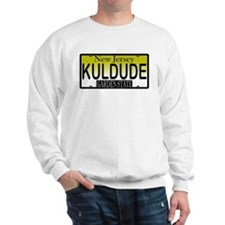 Cool Dude NJ Vanity Plate Sweatshirt