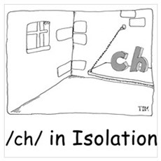 /ch/ in Isolation Canvas Art